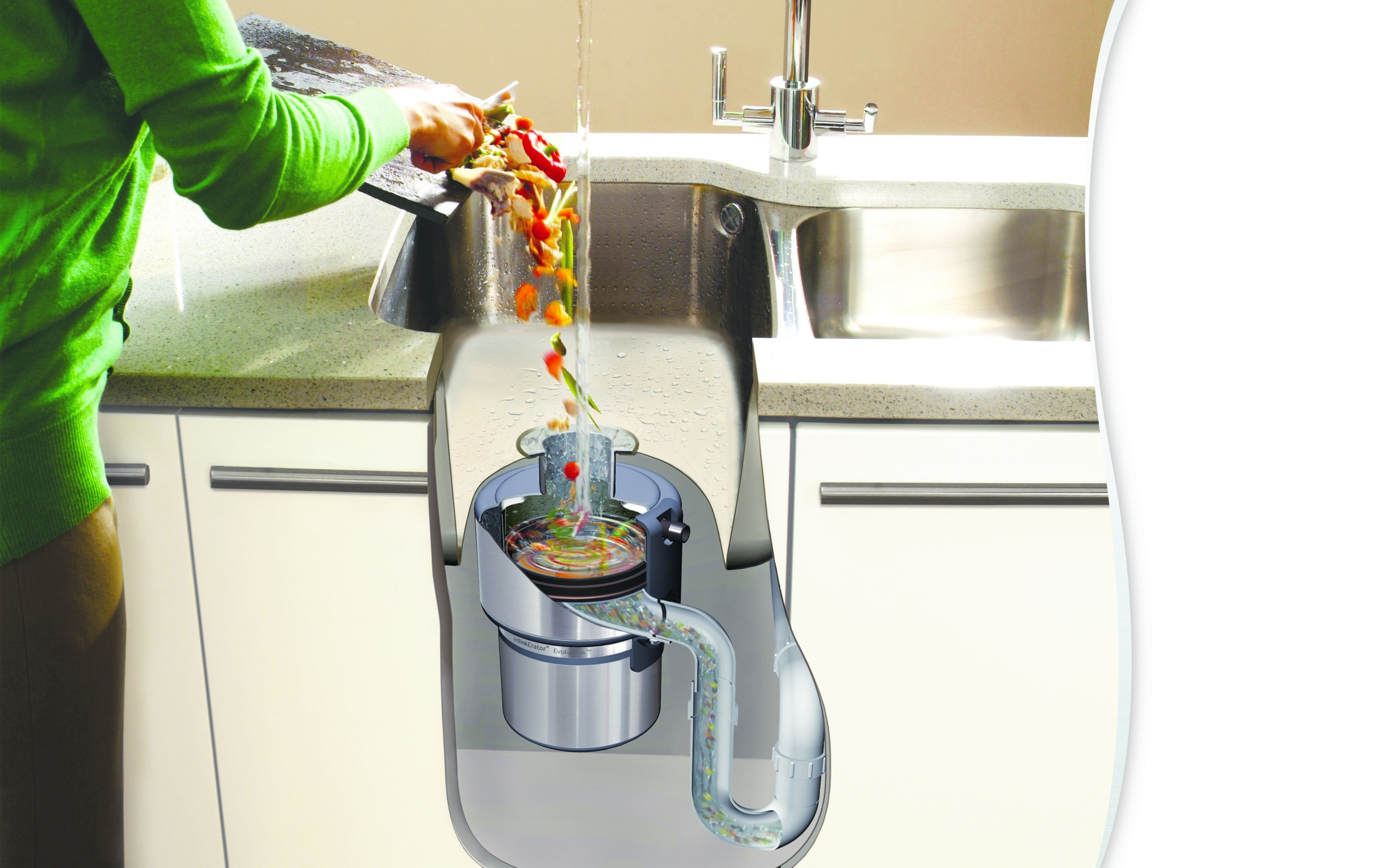 Измельчитель пищевых отходов