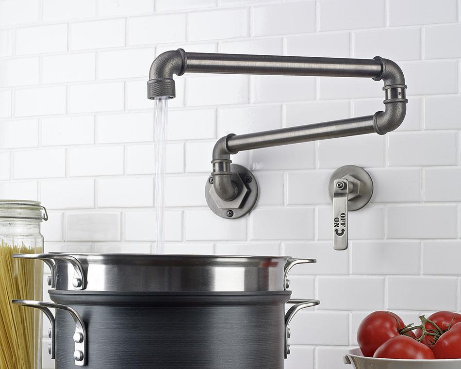 Дизайнерские смесители для кухни
